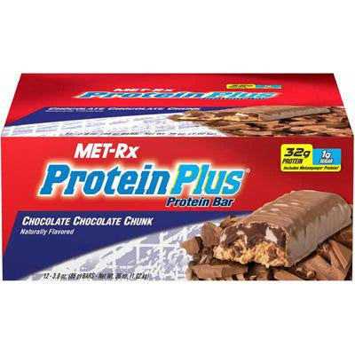 Picture of Met-Rx Protein Plus Protein Bar - Chocolate Chunk - Case of 12 - 85 Grams