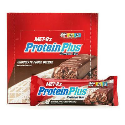 Picture of Met-Rx Protein Plus Protein Bar - Chocolate Fudge Deluxe - Case of 12 - 85 Grams