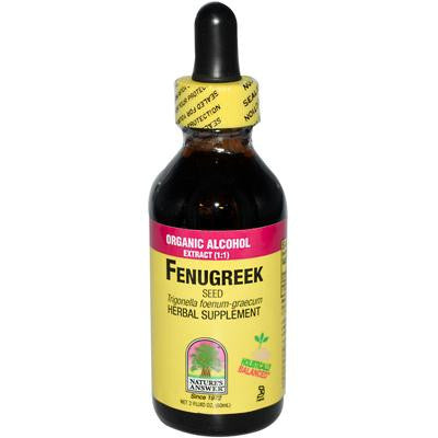 Picture of Nature's Answer Fenugreek Seed - 2 fl oz