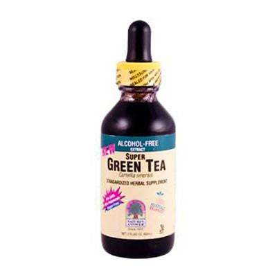 Picture of Nature's Answer Super Green Tea Alcohol and Sugar Free - 2 fl oz
