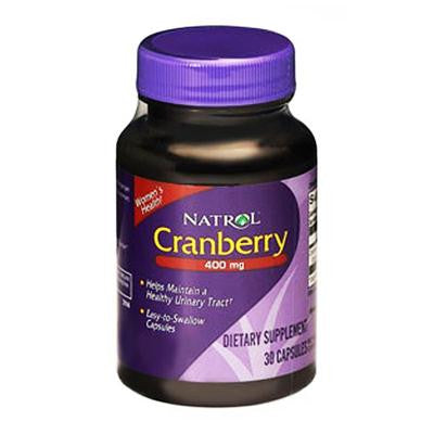 Picture of Natrol Cranberry Extract - 400 mg - 30 Capsules