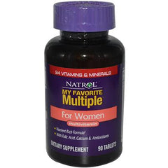 Natrol My Favorite Multiple for Women - 90 Tablets