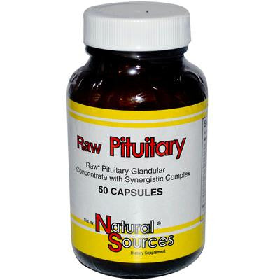 Picture of Natural Sources Raw Pituitary - 50 Capsules
