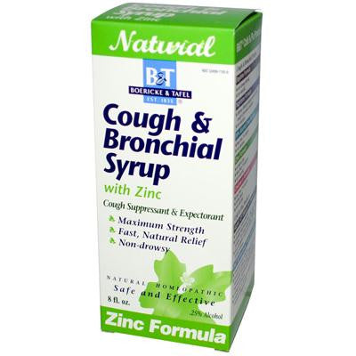 Picture of Boericke and Tafel Cough And Bronchial Syrup With Zinc - 8 fl oz