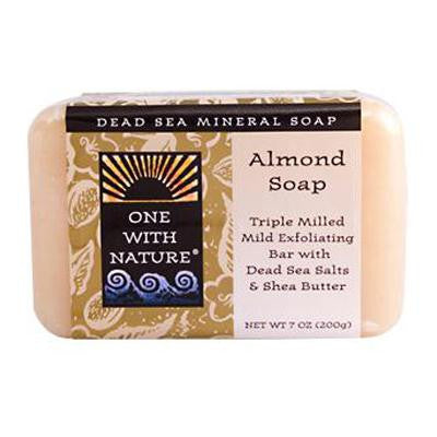 Picture of One With Nature Almond Soap Bar - 7 oz