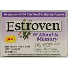 Estroven Plus Mood and Memory - 30 Caplets