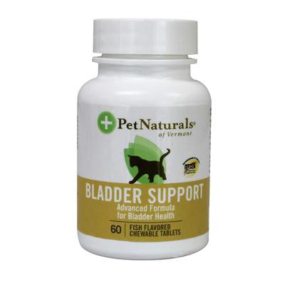 Picture of Pet Naturals of Vermont Bladder Support for Cats - 60 Fish Flavored Chewable Tablets