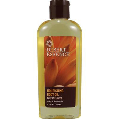 Picture of Desert Essence Nourishing Body Oil Cactus Flower - 6.4 fl oz