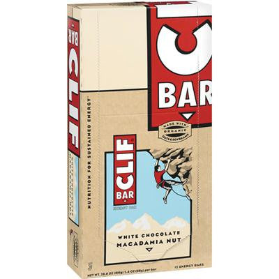 Picture of Clif Bar - Organic White Chocolate Macadamia Nut - Case of 12 - 2.4 oz
