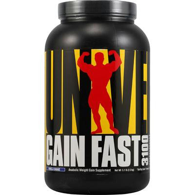 Picture of Universal Nutrition Gain Fast 3100 Vanilla Shake - 5.1 lbs