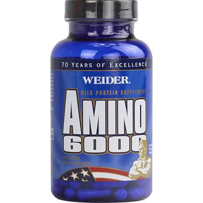 Picture of Weider Amino 6000 - 100 Capsules