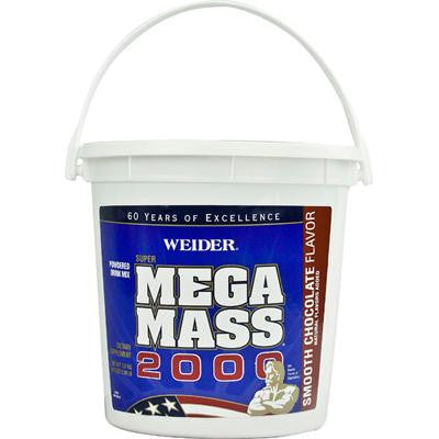 Picture of Weider Global Nutrition Mega Mass 2000 - Chocolate - 2.8 Lb.