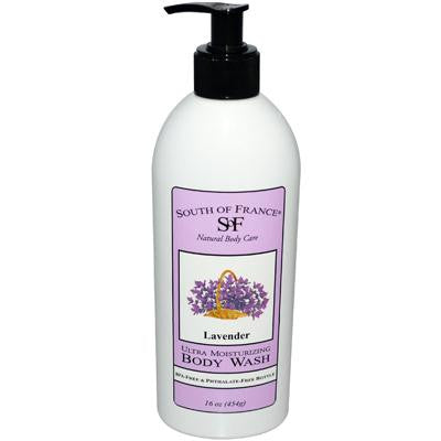 Picture of South of France Body Wash Lavender - 16 fl oz