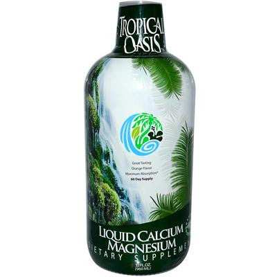 Picture of Tropical Oasis Liquid Calcium Magnesium Orange - 32 fl oz