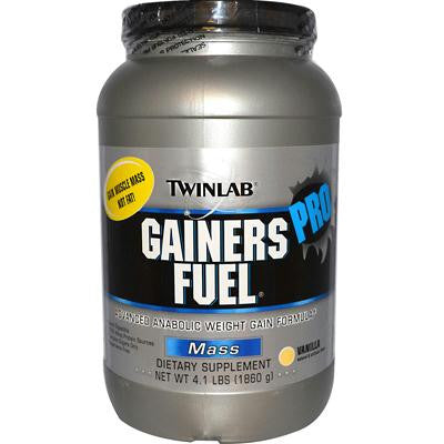 Picture of Twinlab Gainers Fuel Pro-Advanced Anabolic Weight Gain Formula - Vanilla - 4.1 lbs