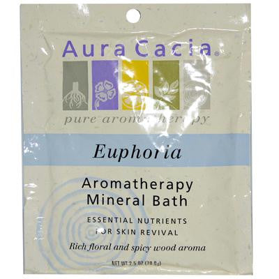 Picture of Aura Cacia Aromatherapy Mineral Bath Euphoria - 2.5 oz - Case of 6