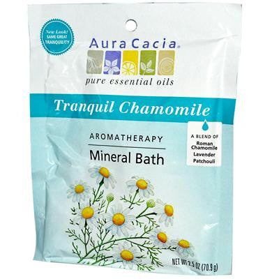 Picture of Aura Cacia Aromatherapy Mineral Bath Tranquility - 2.5 oz - Case of 6