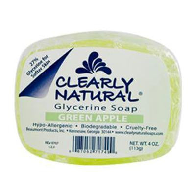 Picture of Clearly Natural Glycerine Bar Soap Green Apple - 4 oz