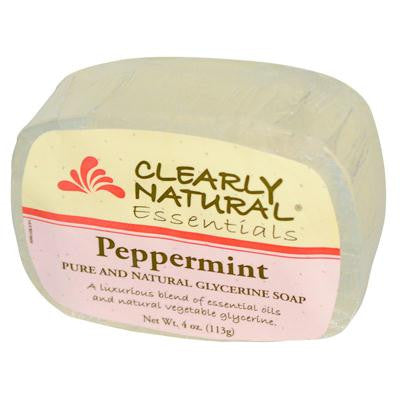 Picture of Clearly Natural Glycerine Bar Soap Peppermint - 4 oz