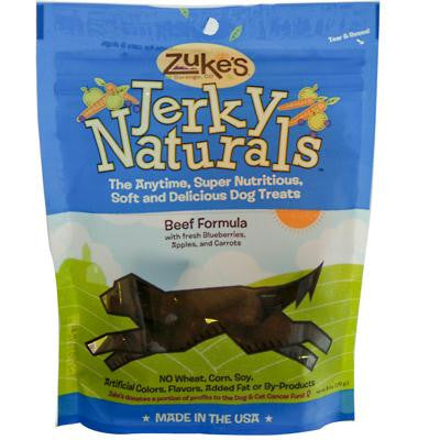 Picture of Zuke's Jerky Naturals For Dogs Beef - 6 oz