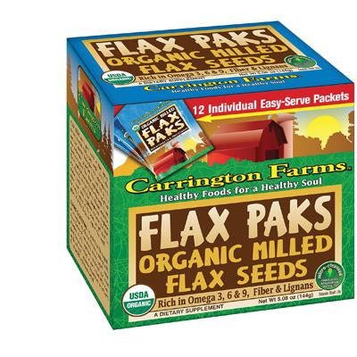 Picture of Carrington Farms Flax Pack Organic Milled Brown - Case of 72 - 5.08Z