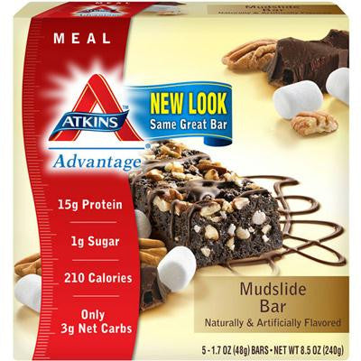 Picture of Atkins Advantage Bar - Marshmallow Mudslide - Pack of 5 - 1.6 oz