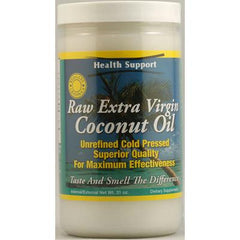 Health Support Raw Coconut Oil Raw - 31 fl oz