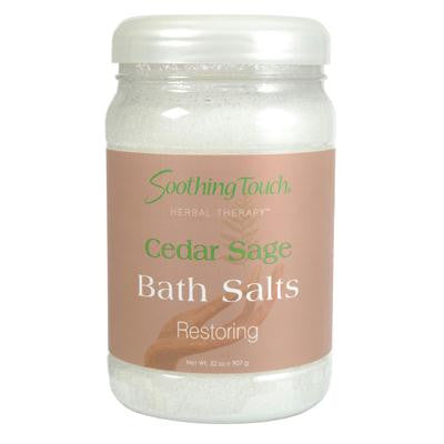 Picture of Soothing Touch Bath Salts - Cedar Sage - 32 oz