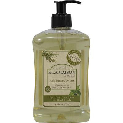 Picture of A La Maison French Liquid Soap Rosemary Mint - 16.9 fl oz