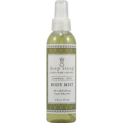Picture of Deep Steep Body Mist Rosemary Mint - 6 fl oz