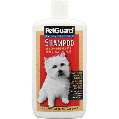 Picture of PetGuard Shampoo And Conditioner For Dogs - 12 fl oz