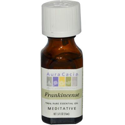 Picture of Aura Cacia Pure Essential Oil Frankincense - 0.5 fl oz