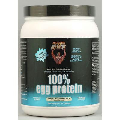 Picture of Healthy 'N Fit Nutritionals 100% Egg Protein Vanilla Ice Cream - 12 oz