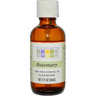 Picture of Aura Cacia 100% Pure Essential Oil Rosemary Cleansing - 2 oz