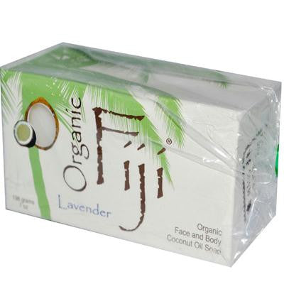 Picture of Organic Fiji Organic Face and Body Coconut Oil Soap Lavender - 7 oz