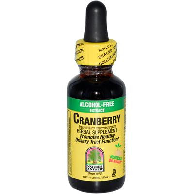 Picture of Nature's Answer Cranberry Alcohol Free - 1 fl oz