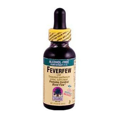 Picture of Nature's Answer Feverfew Leaf Alcohol Free - 1 fl oz