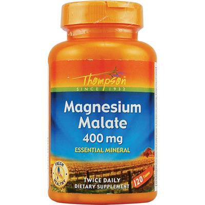 Picture of Thompson Magnesium Malate - 400 mg - 120 Tablets