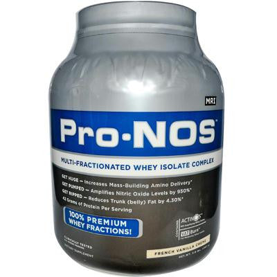Picture of MRI Pro-NOS Multi-Fractionated Whey Isolate Complex French Vanilla Creme - 3 lbs