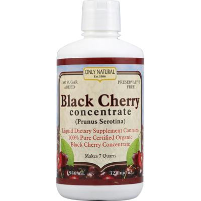 Picture of Only Natural Organic Black Cherry Concentrate - 32 fl oz