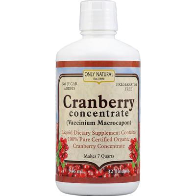Picture of Only Natural Organic Cranberry Concentrate - 32 fl oz