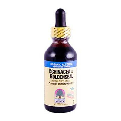 Picture of Nature's Answer Echinacea and Goldenseal - 2 fl oz