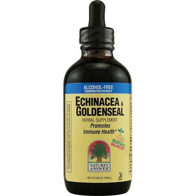 Picture of Nature's Answer Echinacea and Goldenseal - 4 fl oz