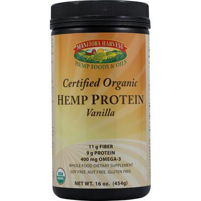 Picture of Manitoba Harvest Organic Hemp Protein Vanilla - 16 oz