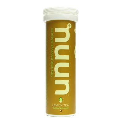 Picture of Nuun Hydration Tablets and Water Bottle - Lemon Tea - Case of 8 - 20 oz