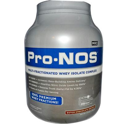 Picture of MRI Pro-NOS Multi-Fractionated Whey Isolate Complex Dutch Chocolate Royale - 3 lbs