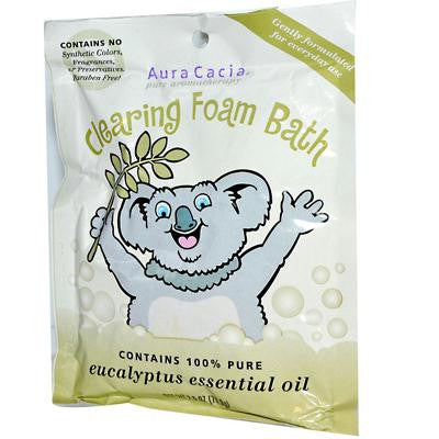 Picture of Aura Cacia Clearing Foam Bath - Eucalyptus - Case of 6 - 2.5 oz