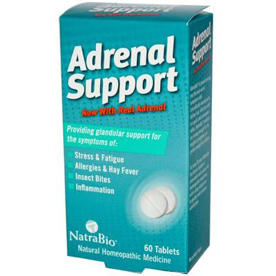 Picture of NatraBio Adrenal Support - 60 Tablets