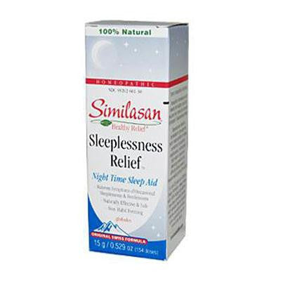 Picture of Similasan Sleeplessness Relief - 0.529 fl oz