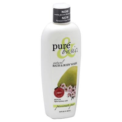 Picture of Pure and Basic Body Wash - Passionate Pear - 12 oz